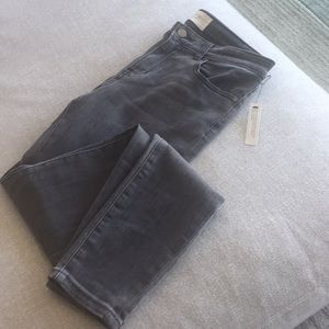 Gray Denim Caslon Skinny Jeans